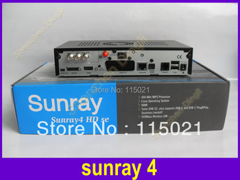 2014 DM800hd se original Sunray 800se sr4 with sim a8p card  sunray4  Triple Tuner Satellite TV  Receiver 3 in 1 Tuner DVB-S/C/T