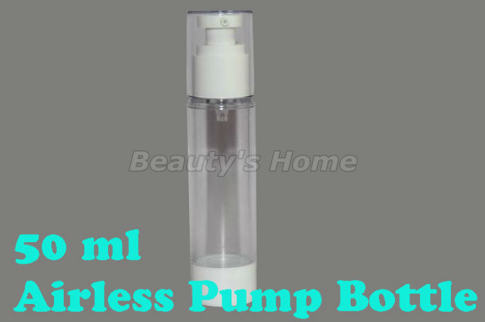50ml recyclable airless pump,vacuum bottle,lotion bottle,airless bottle prevent pollution and oxidation,Free shipping #1062(China (Mainland))