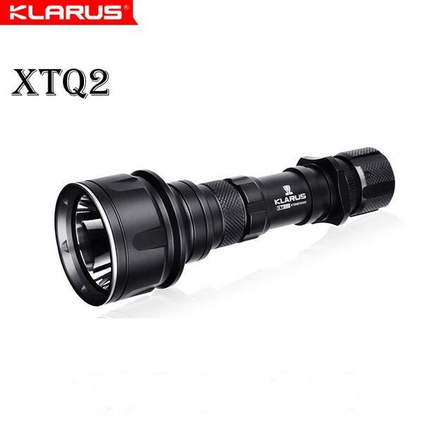 Klarus XTQ2 Ultra-Quiet CREE XM-L2 U2 870 LM Tactical Flashlight Waterproof Led Torch with18650 battery<br><br>Aliexpress