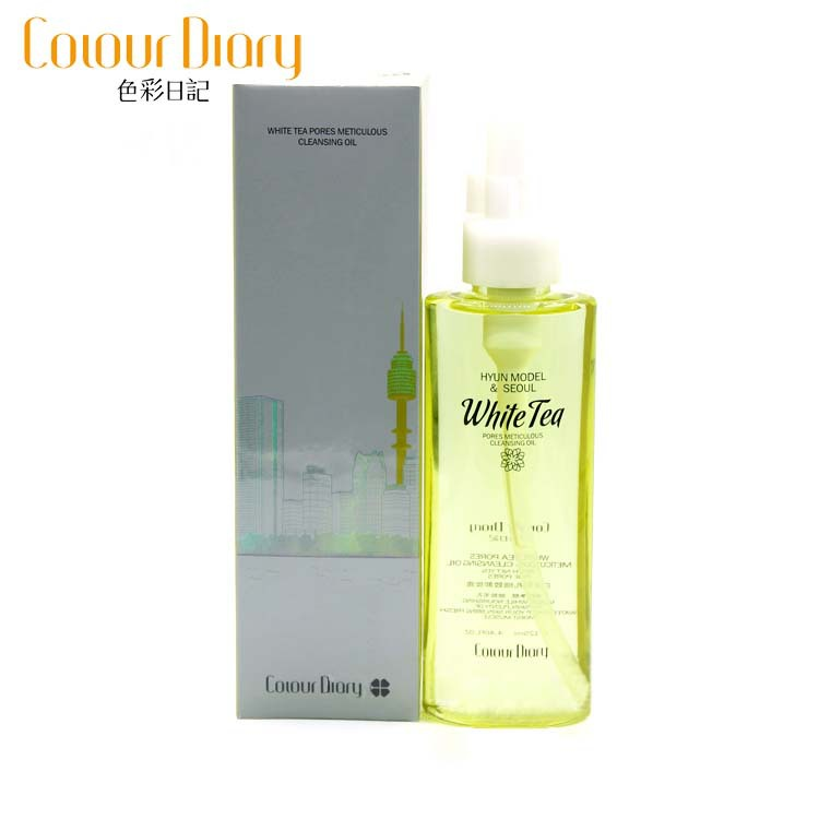 Korea White Tea Cleansing Oil Makeup Remover Hydrophilic Oil To Remove Makeup Liquid For Eye ...