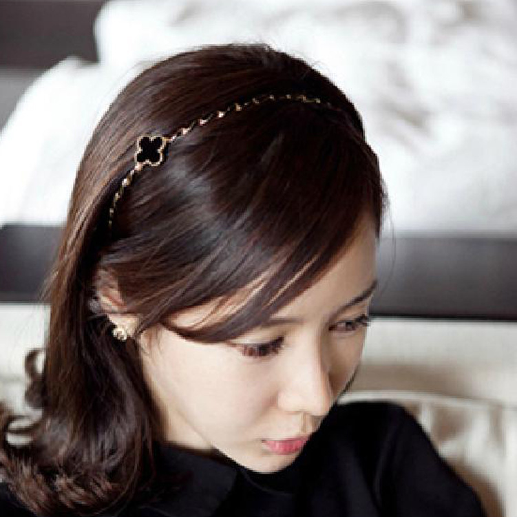 Min.order is $10 (min 2 order) Fashion wig elasticity neat braid headband Alice band Hair Band Ring Rope Headwear Coiffure(China (Mainland))