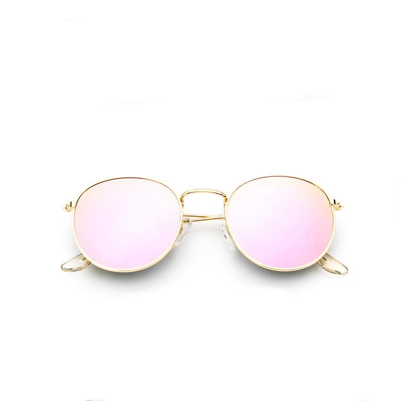 2017 retro round sunglasses women men brand designer sun glasses for women's Alloy mirror sunglasses lentes female oculos de sol(China (Mainland))