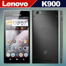 Original Lenovo K900 Mobile Phones Intel Powered 2.0GHz 5.5 Inch IPS Screen RAM 2GB ROM 16GB Android 4.2 Smart Phone