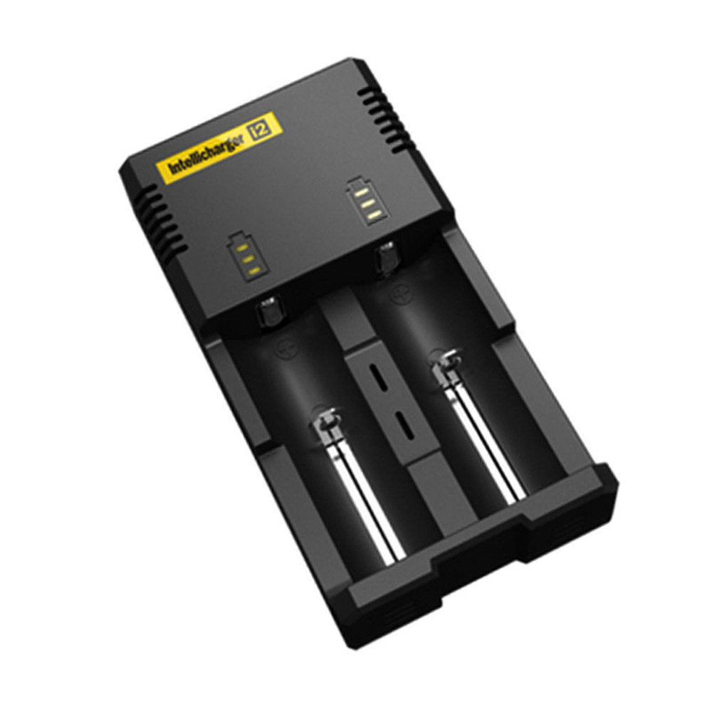 2016 New Arrival Nitecore I2 charger Battery AAA 26650 22650 18650 AA 17670 18490 Controlled Intelligent Charger Battery(China (Mainland))