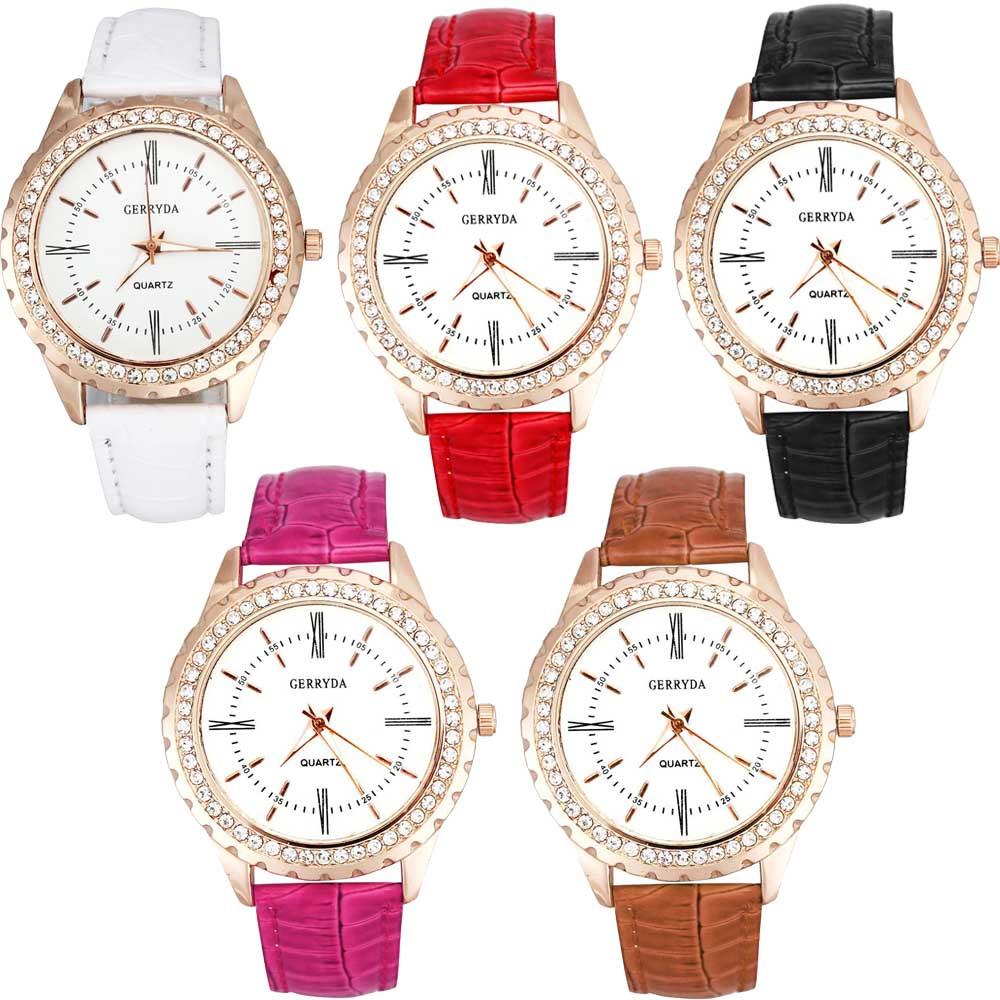 women watches brand luxury 2016 wrist diamond bracelet watches hot sale women dress Women Business Casual Quartz Pendant(China (Mainland))