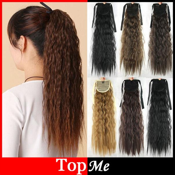 Хвостики на волнистые волосы