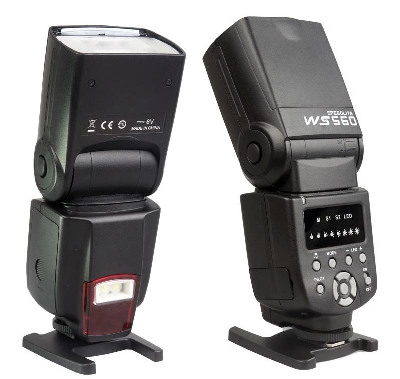 Гаджет  Free shipping NEW WANSEN Flash Speedlite WS-560 Camera flash for NIKON D3100 D5100 D7000 Canon 60D 600D 650DV 70D None Бытовая электроника