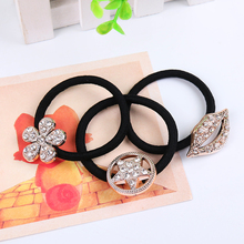 Buy 6 PCS Elastic Hair Bands Rubber Bands Crystal Simulated Pearl Flower Star Bow Hair Accessories Kids Girls Women Headwear for $1.36 in AliExpress store