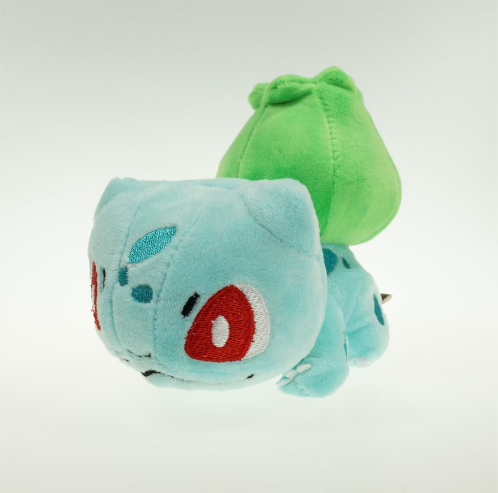 "5"" 14cm Pokemon Cute Fushigidane Plush Toys For Children Retail Bulbasaur Plush Doll Stuffed Bulbasaur Best Birthday Gift(China (Mainland))"