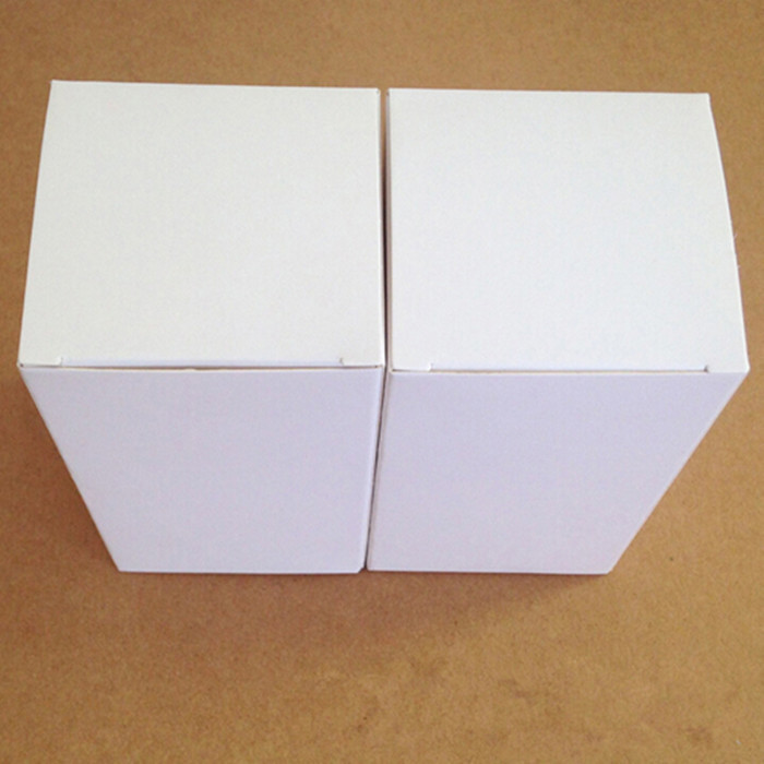 White 6*6*8cm Small Gift 20Pcs/ Lot Event Cardboard Packaging Box Fashion Jewelry, Items Art And Crafts Handicraft Boxes(China (Mainland))