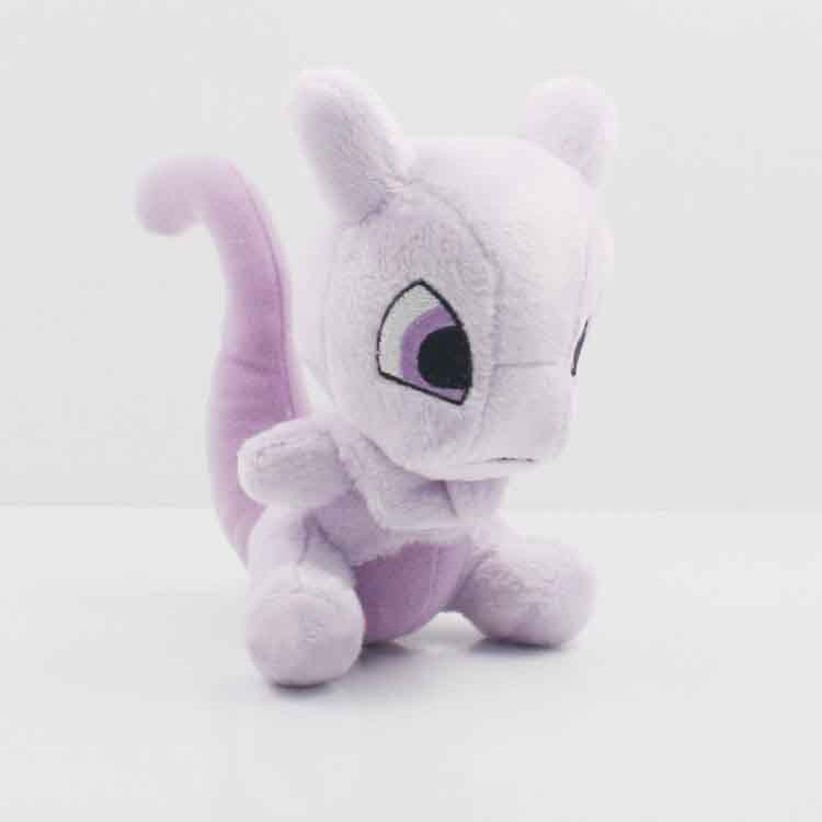 apanese Anime Genuine Pokemon Plush toys Pokemon Mew soft and stuffed doll toys Gifts For Kids 15cm(China (Mainland))