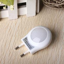 Modern Led Small Lamp EU Plug in Baby Socket Lamp Sensor Night Light,Free Shipping(China (Mainland))