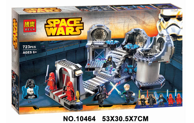 Factory sales 2016 New Bole 10464 Star Wars Building Blocks death star final duel 75093 Gifts Toys Compatible Legoed - World Fashion Store store