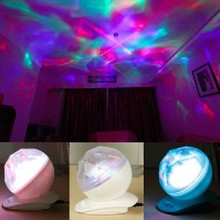Hotsell  perfect 2016 party using Creative Colorful Diamond Projector Projection Lamp The Waves Of The Sea's Got Talent Gifts(China (Mainland))