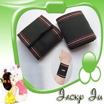 1 Pair Free Shipping New Sports PRO Elastic Wrist Pad Wrap Protector Brace Injury Wrist Support Wrap