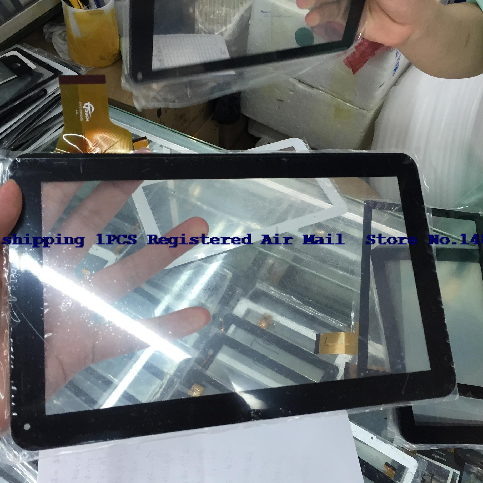 Free shipping 1pcs The new 10.1-inch capacitive touch screen tablet PC screen number GT1010PD035 HXS.(China (Mainland))