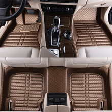 5D Super hight quality full surround covers car floor mat double depal car floor mat for Mercedes-Benz GLA200 GLK350 ML350 R(China (Mainland))