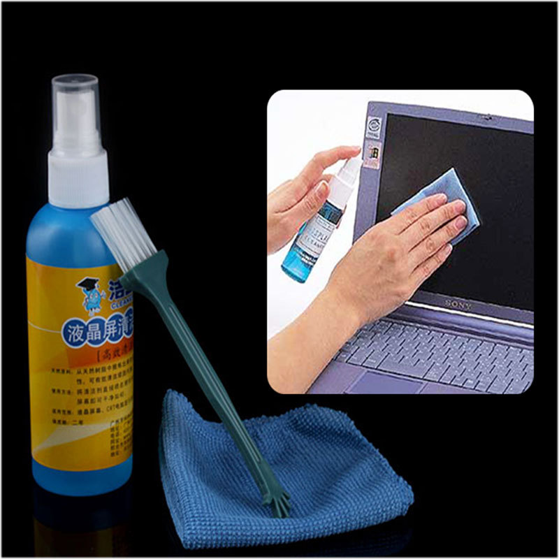 Computer Laptop LCD Monitor Screen Cleaner Cleaning Spray Kit #3182(China (Mainland))
