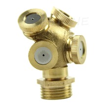 Free Shipping Brass Agricultural Misting Spray Nozzle Garden Sprinkler Irrigation System 1PC(China (Mainland))