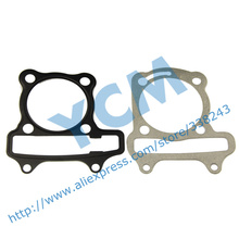 Cylinder Gasket Set Cushion Pad GY6 60cc 44mm Diamter Scooter Engine Spare Parts Moped Wholesale QGD-GY60 (3 sets)