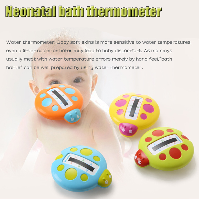 Neonatal Water Thermometers Fashion Cute Cartoon form Baby Bath Thermometer Bathtubs Shower Testing Water Temperature Tester Toy(China (Mainland))