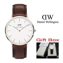 New Brand Luxury Daniel Wellington Watches DW Watch Men Famous Fabric Strap Sports Military Quartz Leather Wristwatch and box.