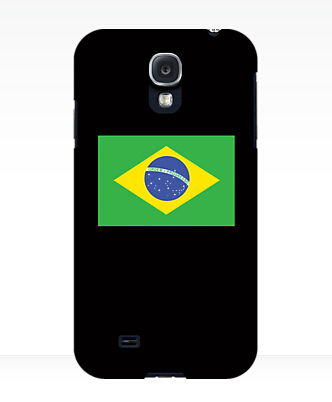 Free shipping custom design BRAZILIAN FLAG PURE SIMPLE Brazil Football Olympics TPU case cover for Samsung Galaxy S5(China (Mainland))