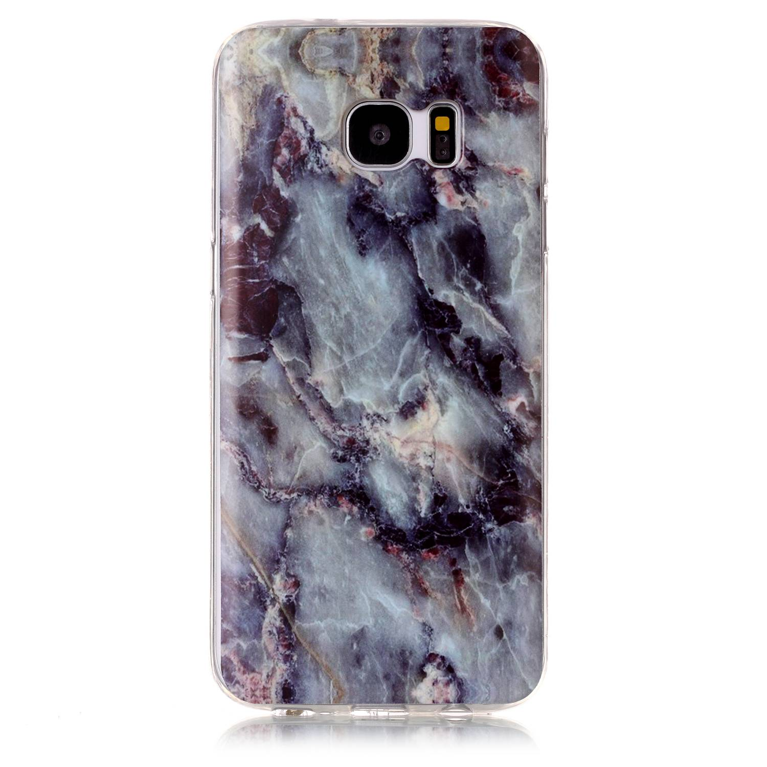 Fashion Personalized Marble Phone Case Soft TPU Back Cover Coque for Samsung Galaxy S7 / S7 Edge Case Accessories