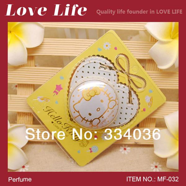 Free shipping!South Korea yellow hello kitty sweet parfume brand women parfum original solid perfume MF-032(China (Mainland))