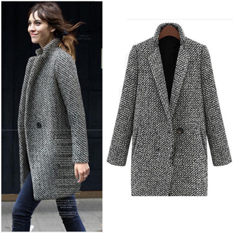 Ladies Grey Coats