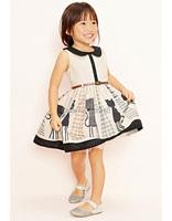 toddler girl clothing cat belt  roupa vestido de bebe para menina deguisement enfant ropa ninas disfraz princesa resale clothing