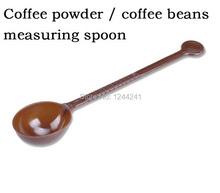 0PCS LOT Coffee powder coffee beans measuring spoon Coffee spoon 10 g standard Fruit powder pearl