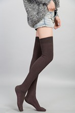 2015 hot Socks For Women  Fashion Lady Girls women Sexy  Over The Knee Thigh High Thinner women sport socks