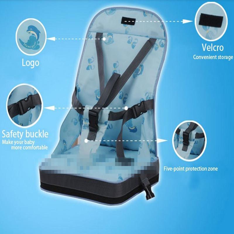 Детская безопасность водонепроницаемый мягкий ужин председатель оксфорд хлопок председатель мода детское сиденье кормление стульчик для сиденья