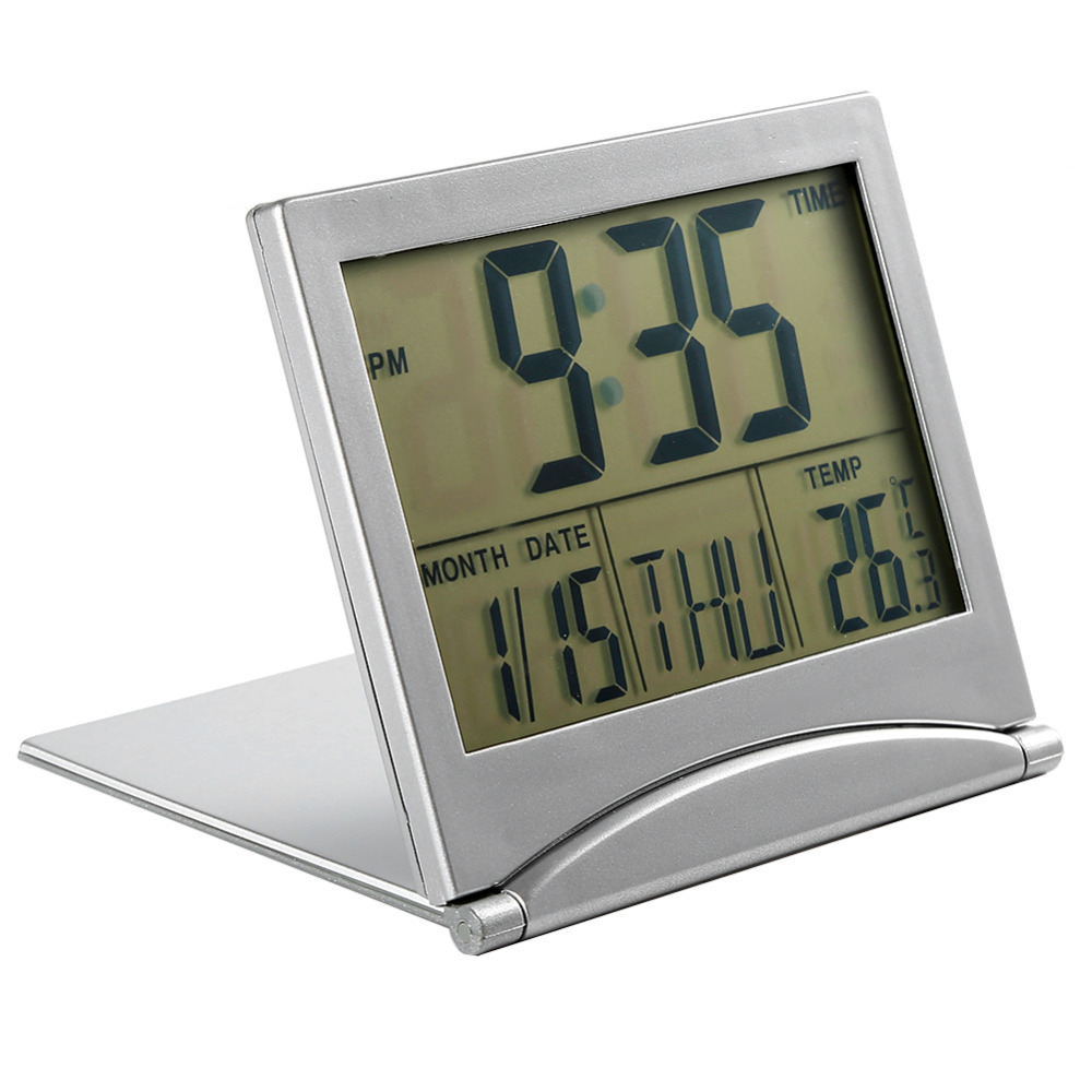 Orologio sveglia digitale da tavolo viaggio richiedibile - Orologio digitale da tavolo ...