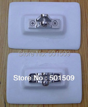 Free ship Bimini Top inflatable Boat Stainless Steel Fittings Hardware Set bimini top accessory boat tent fittings buckle(China (Mainland))