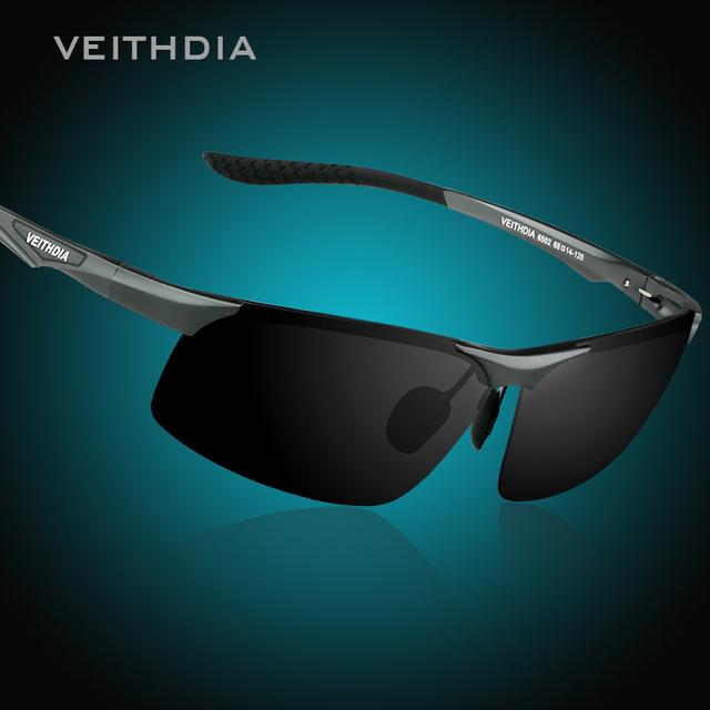 Veithdia магнийалюминиевый поляризованных солнцезащитных очков мужчины спорт солнцезащитные ...