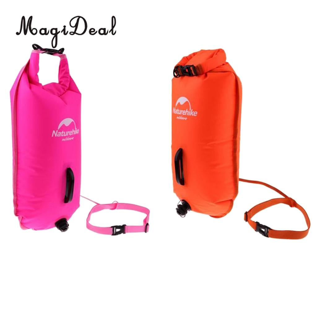Outdoor Waterproof Camping Rafting Storage Dry Bag with Ajustable Strap Hook Jt