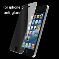 Wholesale 3PCS Anti-glare LCD Screen Protector Film Guard for iPhone 5 The New iPhone 5th, Free & Drop Shipping