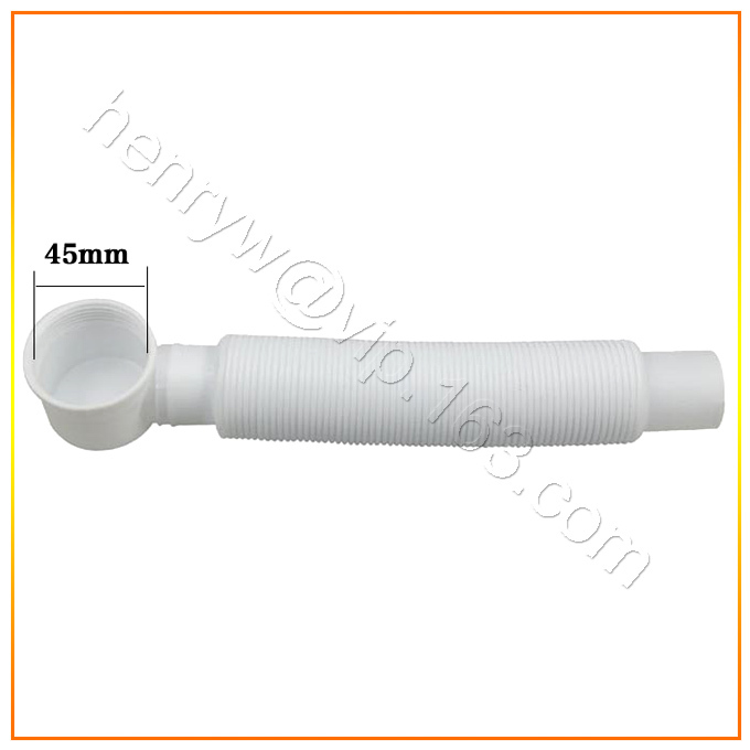 Retail-Luxury ABS Waste Trap, Flexible Hse, 45MM diameter with 70CM Extended, Free Shipping XR13046<br><br>Aliexpress