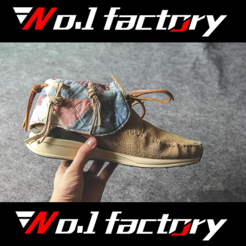 Free Dhl The Original Quality Top Handmade Tassel Of Casual Mens Shoes National style Boots Visvim FBT Shoes With Original Box<br><br>Aliexpress