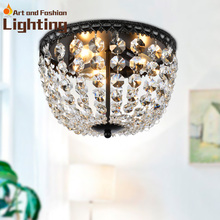 Crystal ball ceiling lights Ball shaped Deco Glam ceiling lights E14 bulbs(China (Mainland))