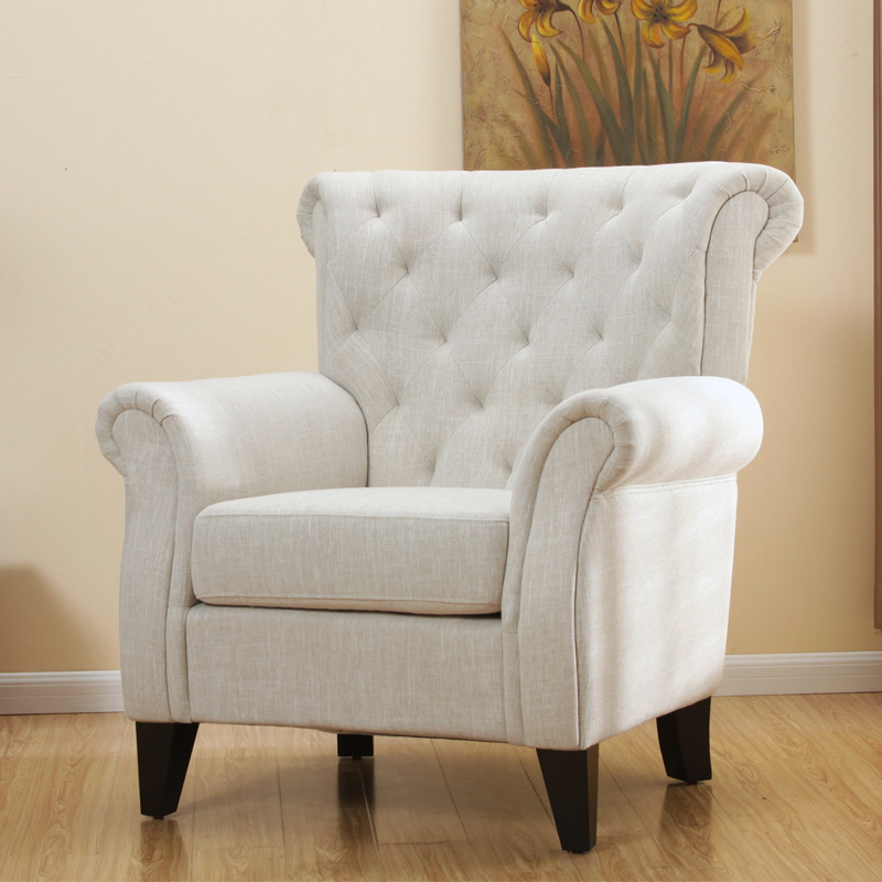 Buy One Hundred American Fabric Armchair Den Hotel L