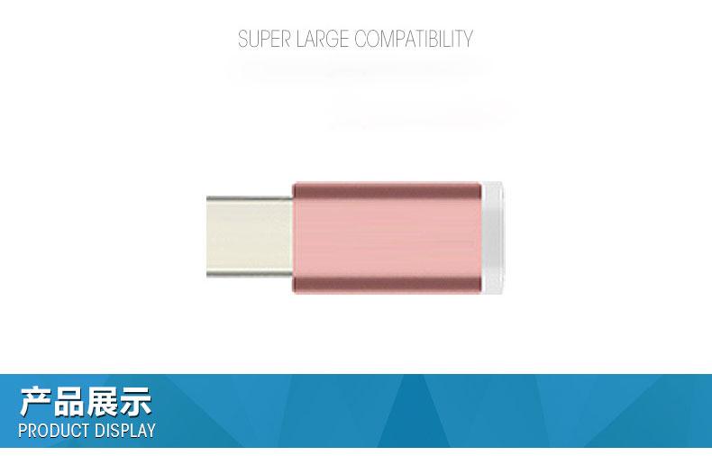 Original Metal Plug USB 3.1Type C Male to Micro USB Female Converter Adapter for Xiao Mi OnePlus2 Nexus 5X 6P USB-C Type-C Cable