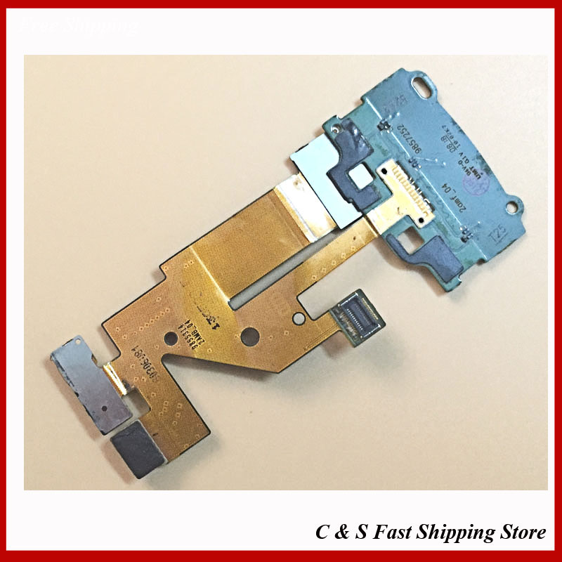 Camera Flex Keypad Membrane For Nokia 6500 Slide 6500S flex cable with track number(China (Mainland))