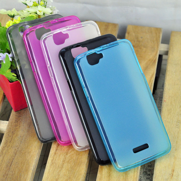 Hot sell 5Color For Qmobile i9 Mobile cell phone Soft TPU Pudding phone Case Free Shipping + 1pcs LCD screen protector(China (Mainland))