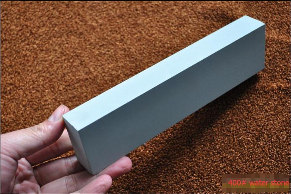 PSRK brand 195*48*25mm Green silicon carbide big size knife whetstone water stone sharpener 400# <br><br>Aliexpress