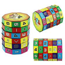 New Design Puzzle Cube Children Education Learning Math Toys for Kids(China (Mainland))