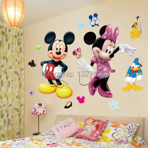 online kaufen gro handel sticker mickey mouse aus china sticker mickey mouse gro h ndler. Black Bedroom Furniture Sets. Home Design Ideas
