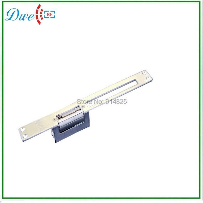 Здесь можно купить  Free shipping High quality DC12V glass lock/electric lock/wooden door/door electric/electronic lock /NO, NC lock  Безопасность и защита